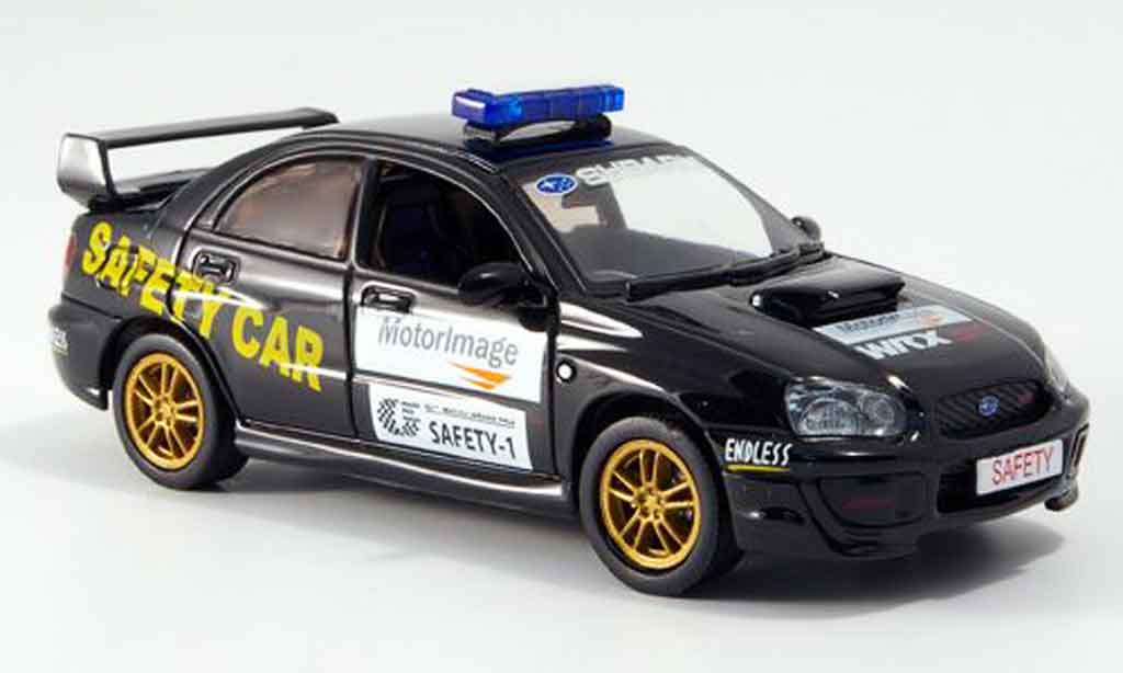 Subaru Impreza 1/43 J Collection safety car macau gp 2006 miniature