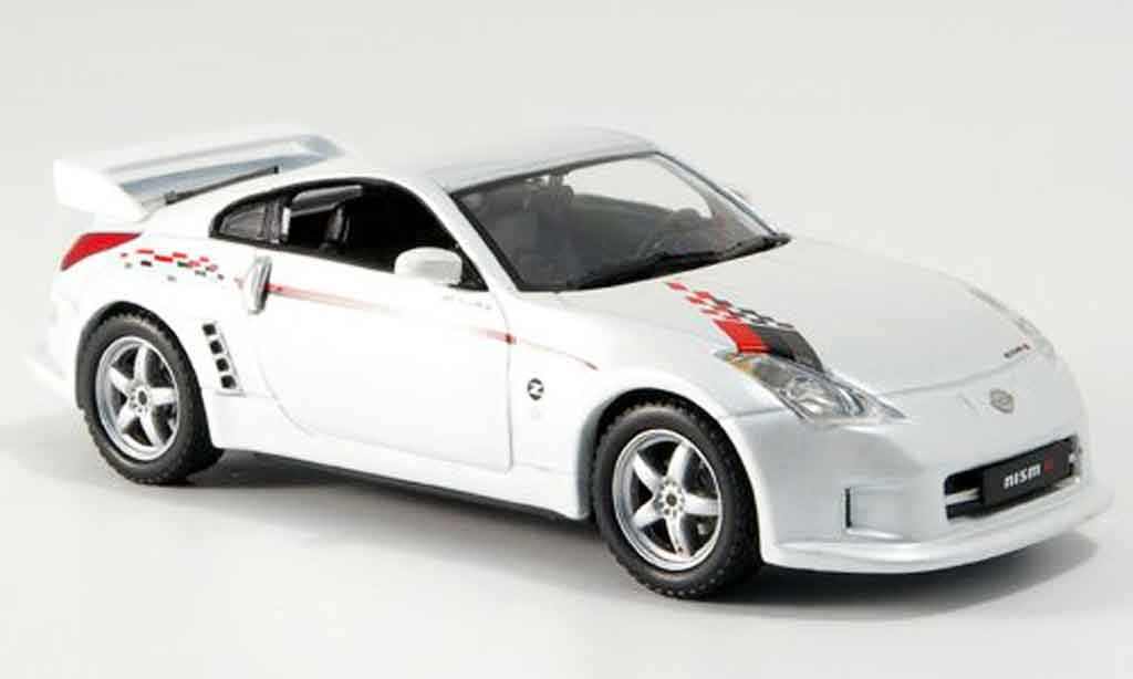Nissan 350Z 1/43 J Collection Nismo S Tune Nismo blanche 2006 miniature