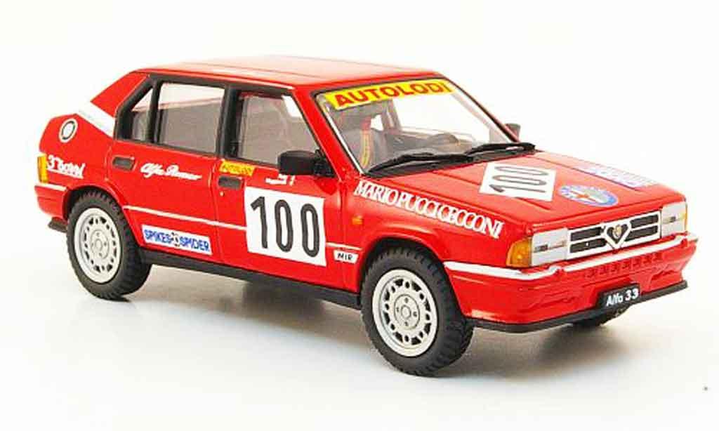 Alfa Romeo 33 1/43 Pego no.100 rallye 1991 miniature