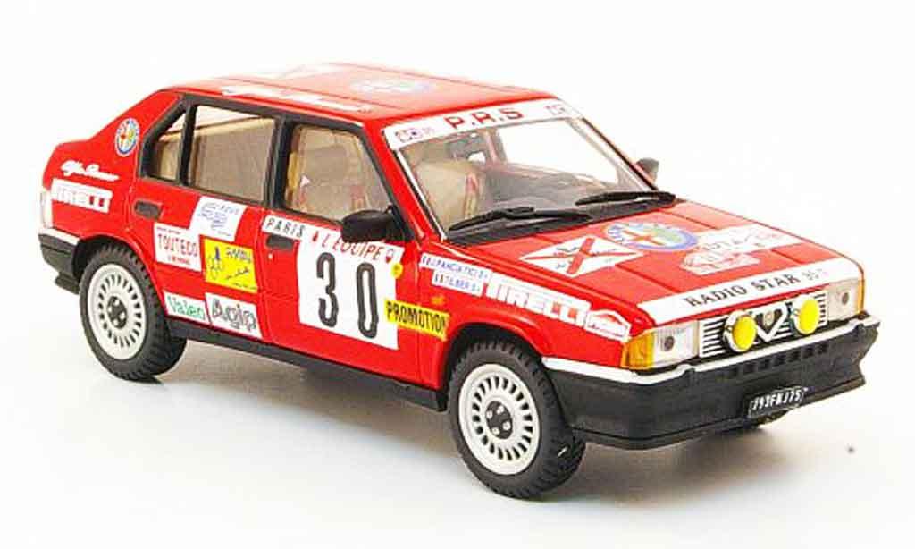 Alfa Romeo 33 1/43 Pego no.30 rallye monte carlo 1986 miniature