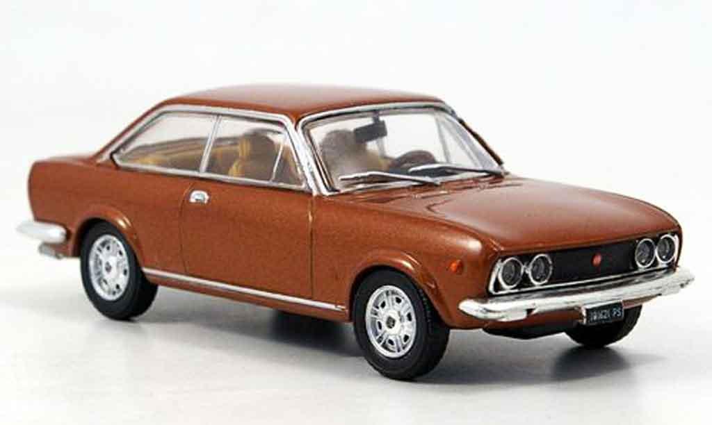 Fiat 124 1/43 Starline Sport Coupe kupfer 1969 diecast model cars