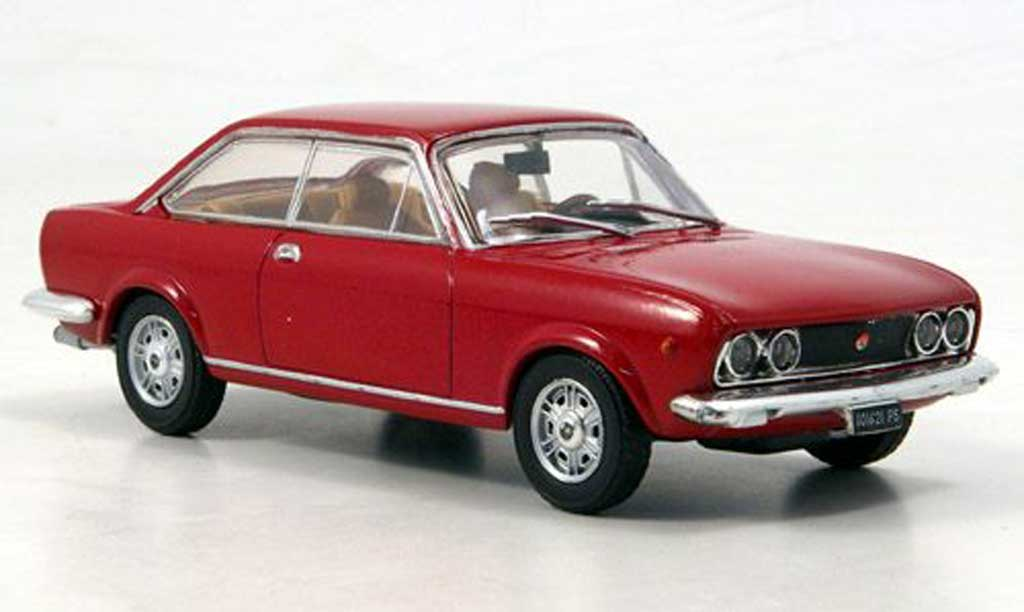 Fiat 124 1/43 Starline Sport Coupe red 1969 diecast model cars