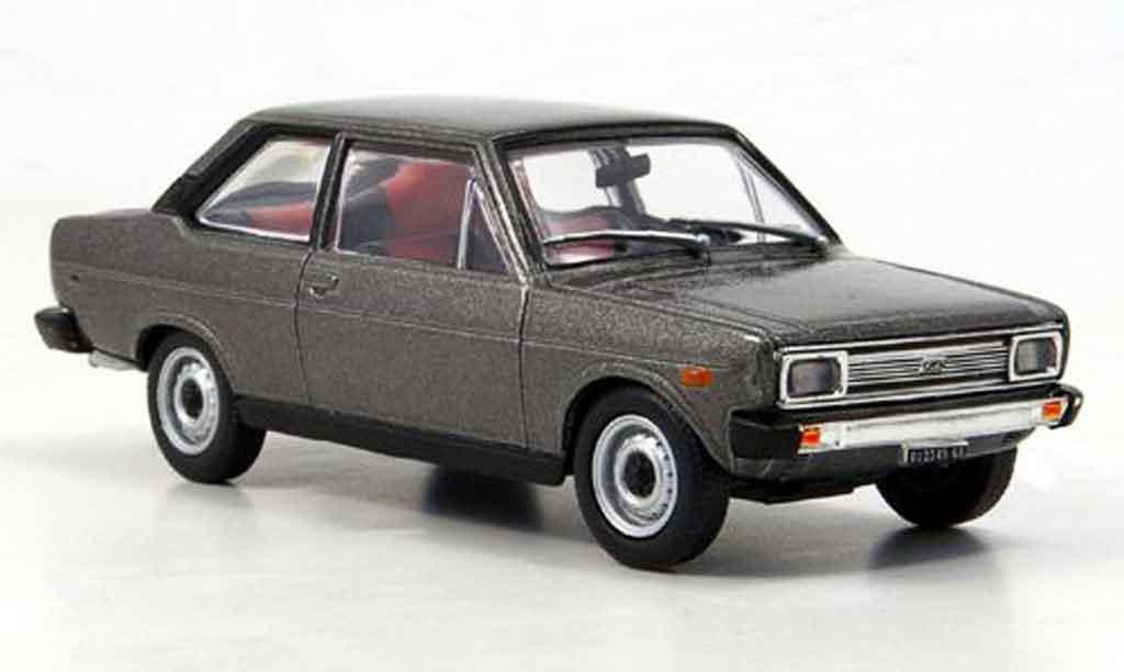 Fiat 131 1/43 Starline Mirafiori anthrazit 1971 miniature