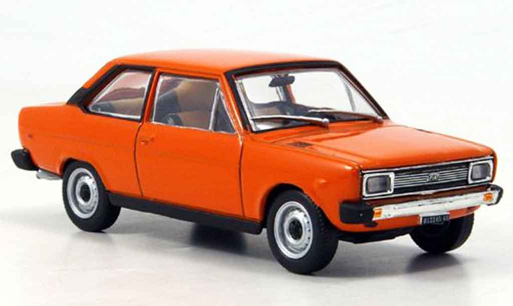 Fiat 131 1/43 Starline Mirafiori orange 1971 miniature