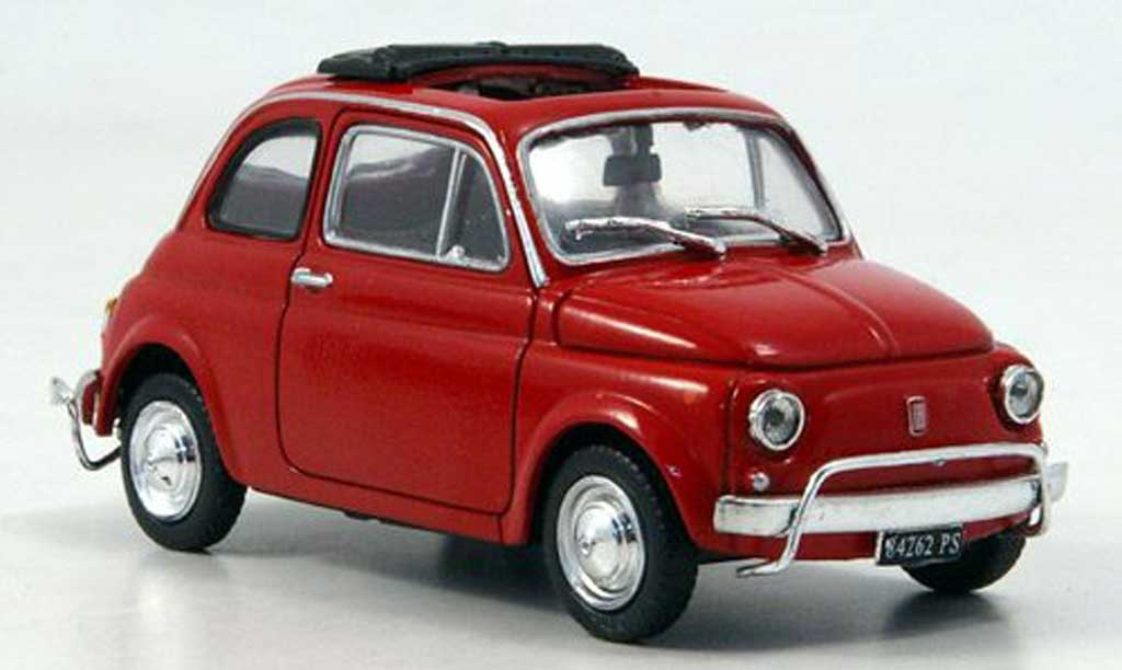 fiat 500 l miniature rouge 1968 starline 1 43 voiture. Black Bedroom Furniture Sets. Home Design Ideas