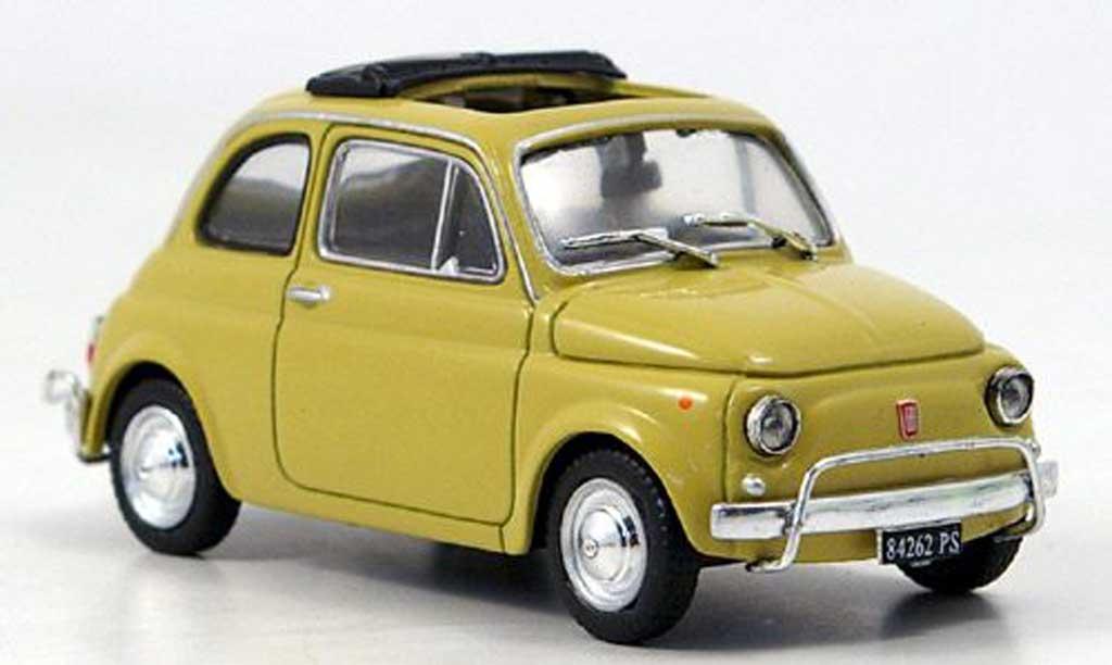 Fiat 500 L 1/43 Starline beige 1968 miniature