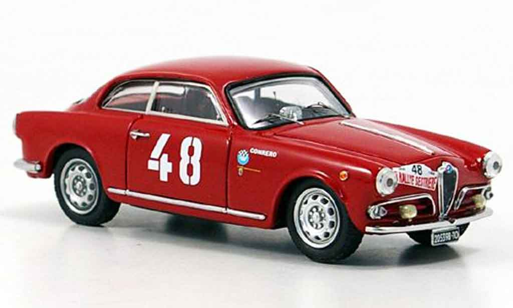 Alfa Romeo Giulietta 1/43 Bang v.rallu miniature