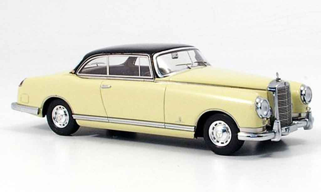 Mercedes 300 B 1/43 Neo B B Pininfarina creme marron miniature