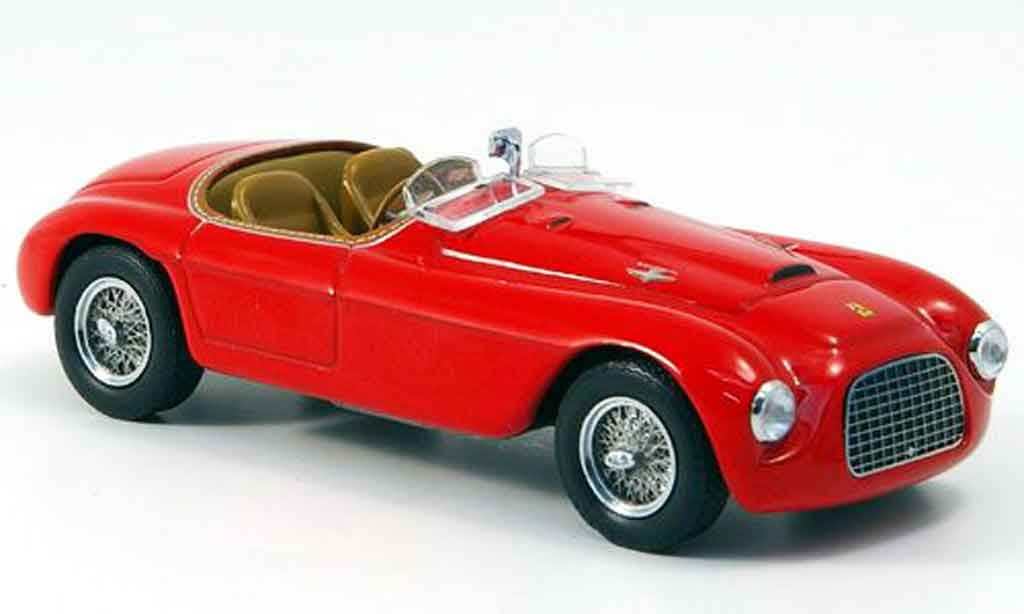 Ferrari 166 1948 1/43 IXO MM rouge miniature