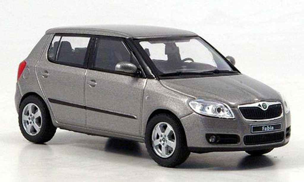skoda fabia ii miniature beige 2006 abrex 1 43 voiture. Black Bedroom Furniture Sets. Home Design Ideas