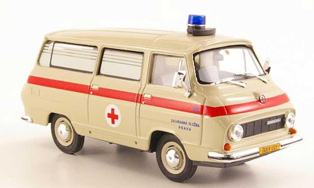 Skoda 1203 1/43 Abrex Rettungswagen miniature