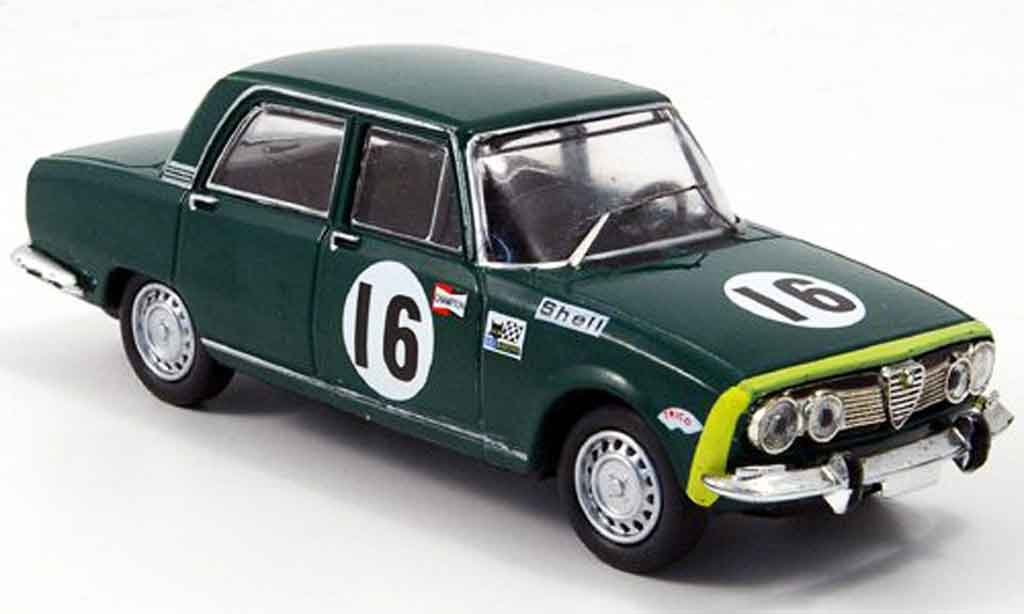 Alfa Romeo 1750 GTV 1/43 M4 berline no.16 24h spa 1968 miniature