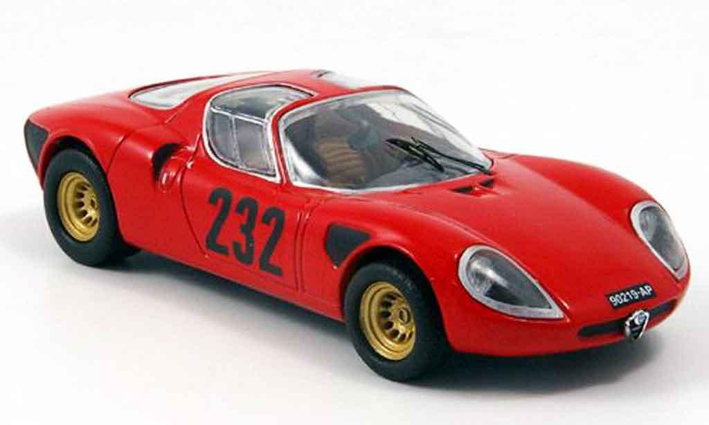 Alfa Romeo 33.3 1969 1/43 M4 no.232 p.laureati s.giustino miniature