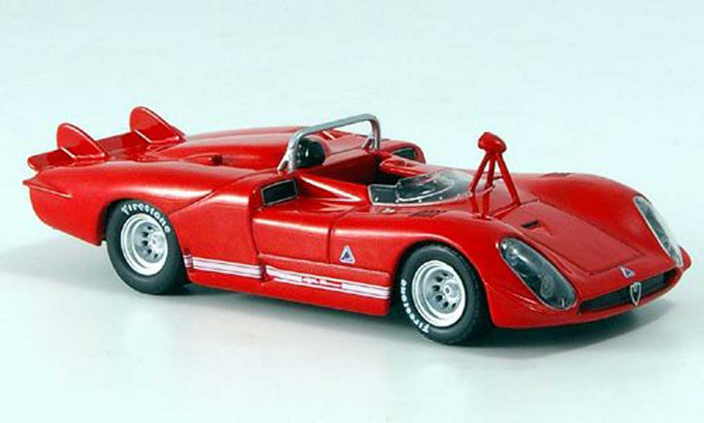 Alfa Romeo 33.3 1970 1/43 M4 Spyder Le Mans red diecast model cars