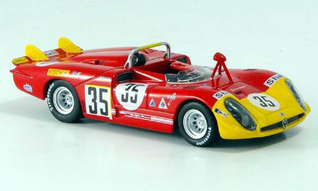 Alfa Romeo 33.3 1970 1/43 M4 Spyder No.35 Stommelen/Galli 24h Le Mans miniature