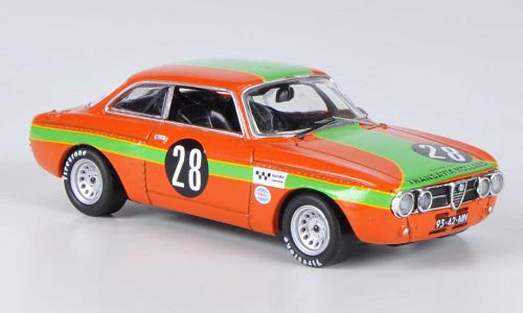 Alfa Romeo Giulia GT Am 1/43 M4 Zandvoort Slotemaker 1970 miniature