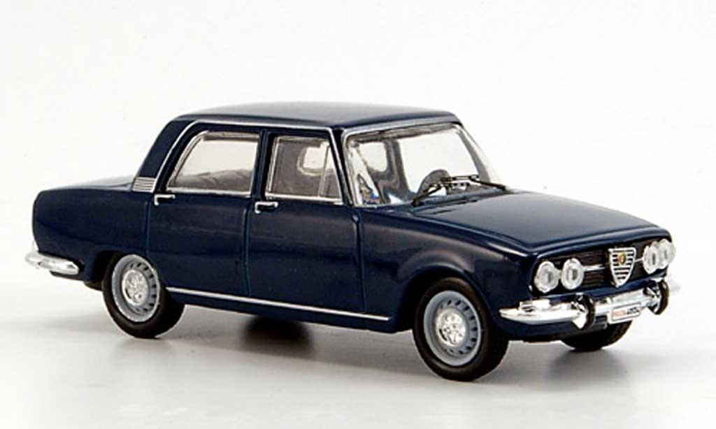 Alfa Romeo 2000 1971 1/43 M4 1971 Berlina bleu miniature