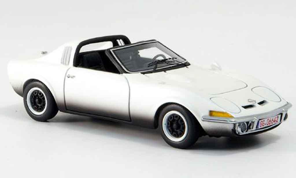 opel gt aero weiss 1969 neo modellauto 1 43 kaufen verkauf modellauto online. Black Bedroom Furniture Sets. Home Design Ideas