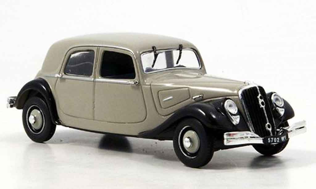 Citroen Traction 22 1/43 Eagle berline grise noire 1934 miniature