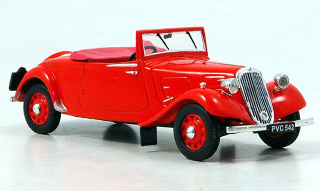 Citroen Traction Roadster 1/43 Eagle light fifteen rouge 1938 miniature