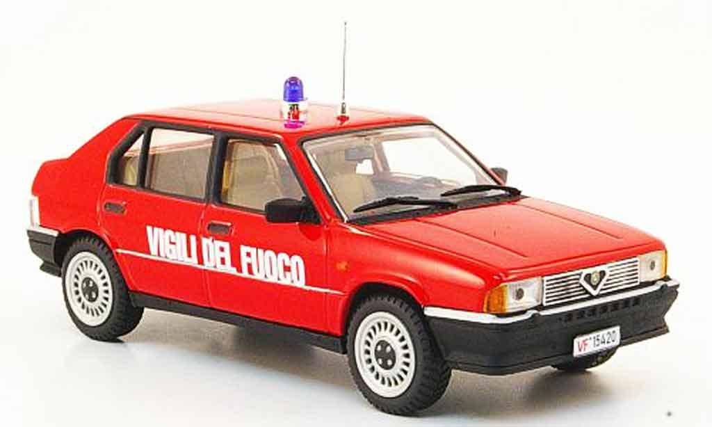 Alfa Romeo 33 1/43 Pego vigili del fuoco 1987