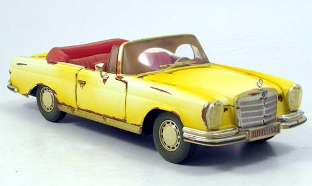 Mercedes 280 1967 1/18 Maisto se cabriolet (w 108) scheunenfund miniature