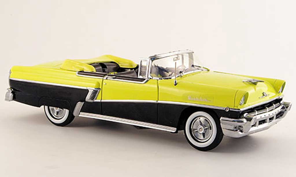 Mercury Montclair 1/18 Sun Star convertible jaune noire 1956