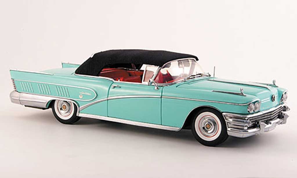 Buick Limited 1/18 Sun Star grun 1958 miniature