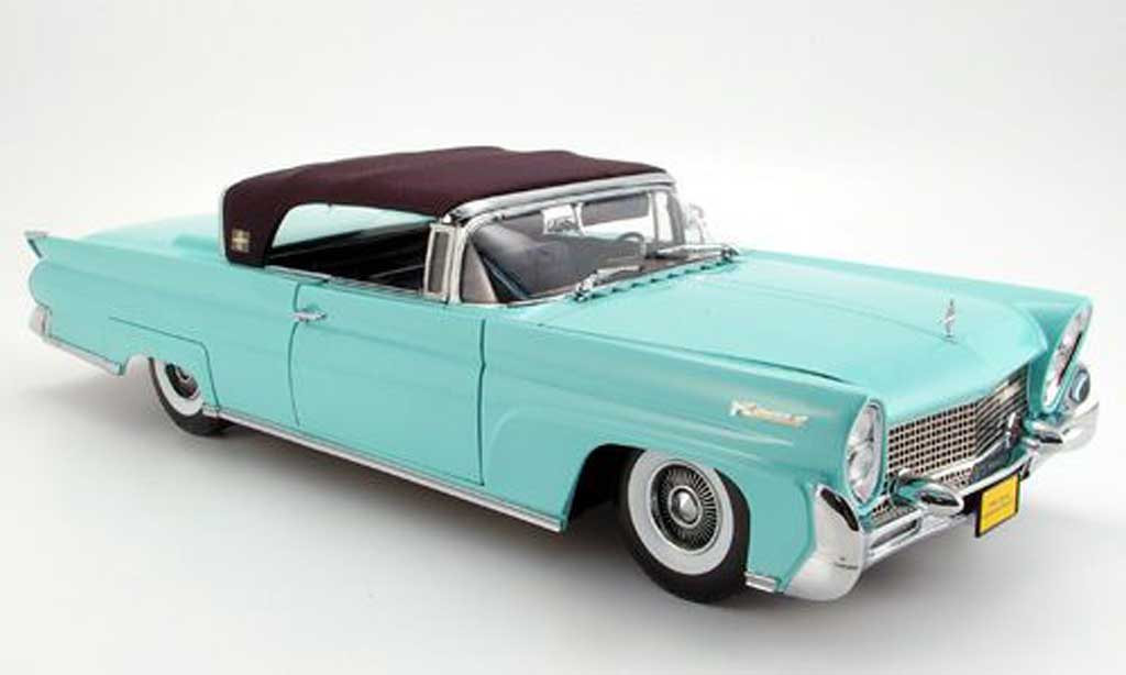 Lincoln Continental 1958 1/18 Sun Star mark iii mint miniature