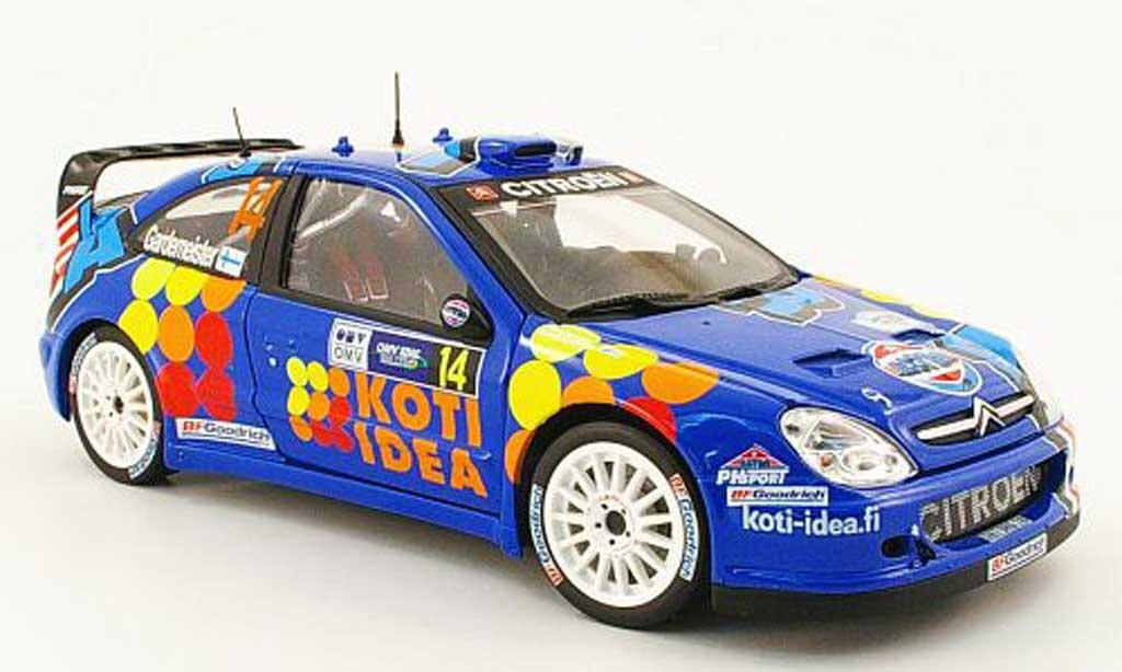 Citroen Xsara WRC 2006 1/18 Sun Star no.14 astra racing rallye allemagne miniature
