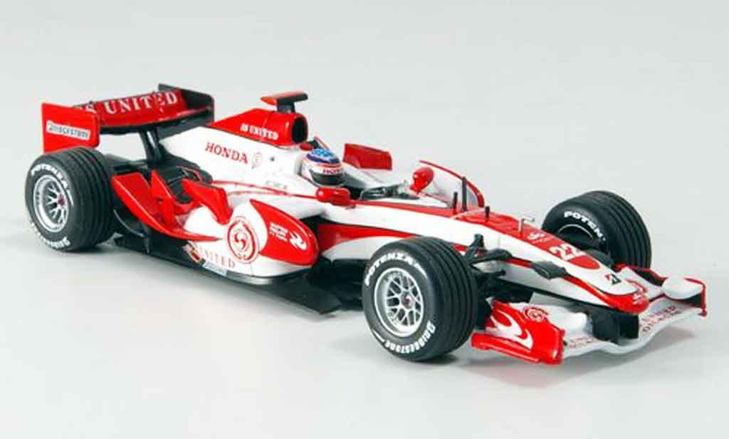 Honda F1 1/43 Minichamps Super Aguri SA07 T. Sato Zweite Saisonhalfte 2007 miniature
