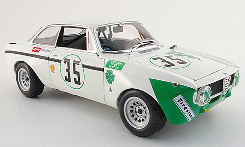 Alfa Romeo Giulia GTA 1300 junior, no.35, jarama 1972 Minichamps. Alfa Romeo Giulia GTA 1300 junior, no.35, jarama 1972 miniature 1/18