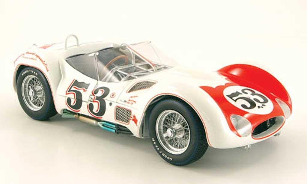 Maserati Tipo 1/18 Minichamps 61 no.53 riverside la times gp 1960 miniature