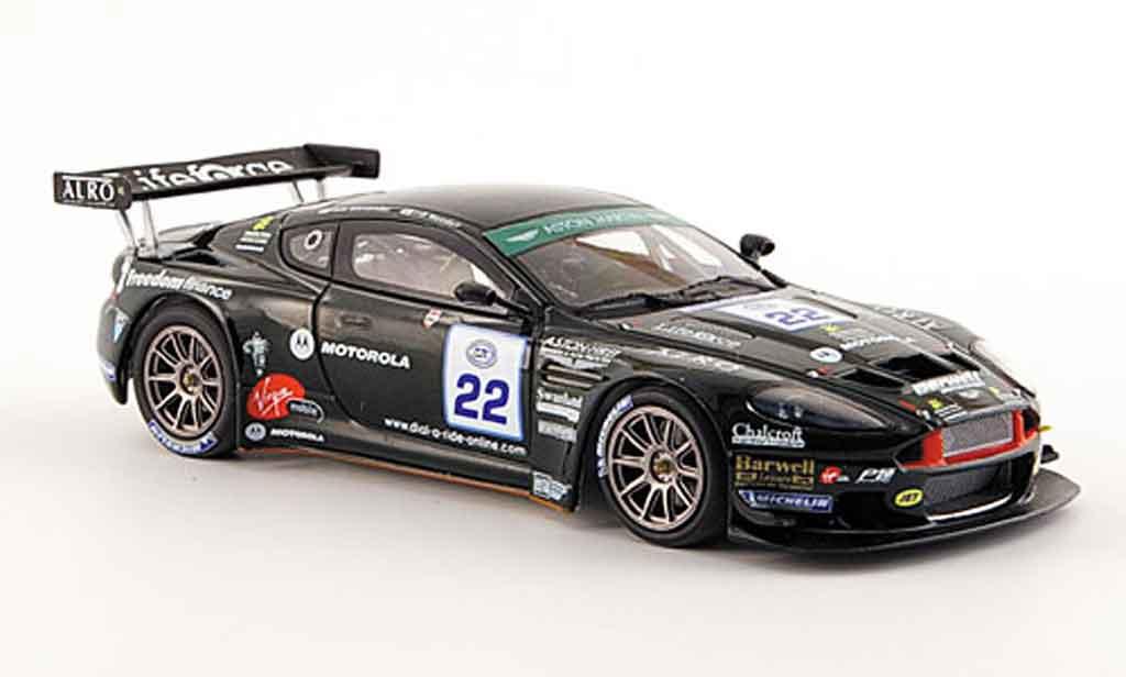 Aston Martin DBRS9 1/43 Minichamps alexander needell fia gt3 race spa 2006 miniature