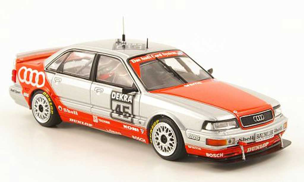 Audi V8 1/43 Minichamps No.45 H.Haupt Team SMS DTM 1992 miniature