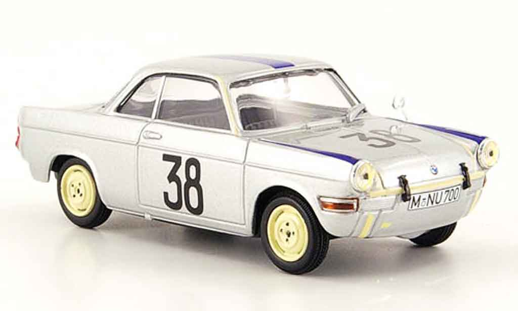 Bmw 700 1/43 Minichamps Sport No.38 H.Stuck Flugplatz Innsbruck 1960 diecast model cars