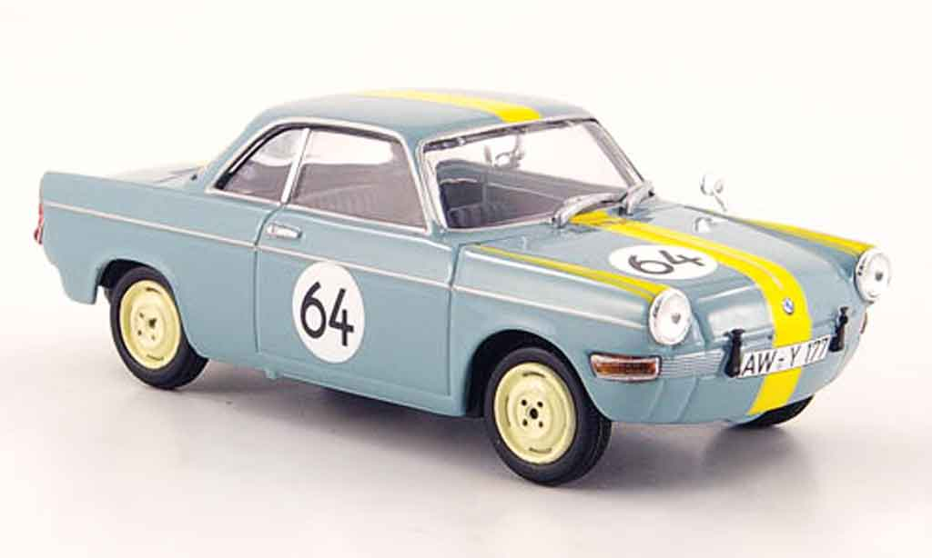 Bmw 700 1/43 Minichamps Sport No.64 Martini 12H Nurburgring 1961 diecast model cars