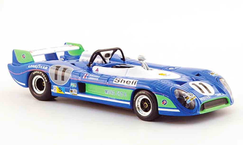 Simca Matra 1/43 Minichamps ms670 b no.11  sieger 24h le mans 1973 miniature