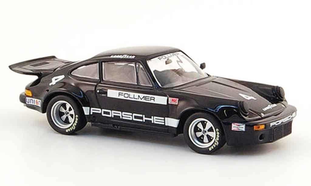 Porsche 911 RSR 1/43 Minichamps IROC 2.8 Sieger IROC 2 Riverside 1973 miniature