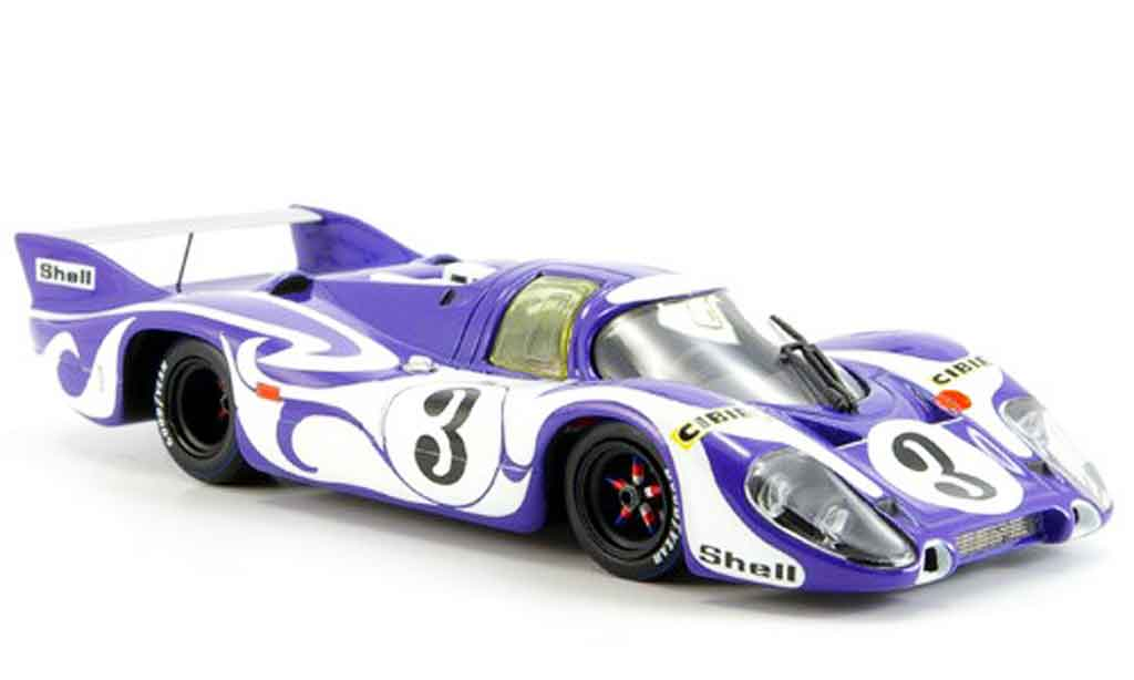 Porsche 917 1970 1/43 Minichamps Hippie Training Le Mans miniature