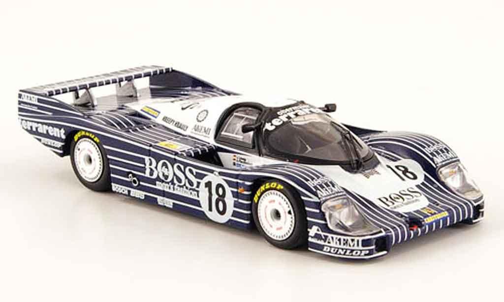 Porsche 956 1983 1/43 Minichamps L No.18 Boss Obermaier Racing 24h Le Mans miniature