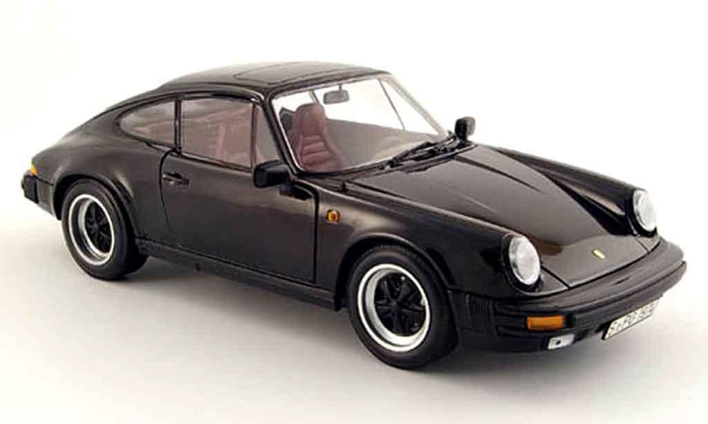 porsche 911 3 2 carrera black 1983 minichamps diecast. Black Bedroom Furniture Sets. Home Design Ideas