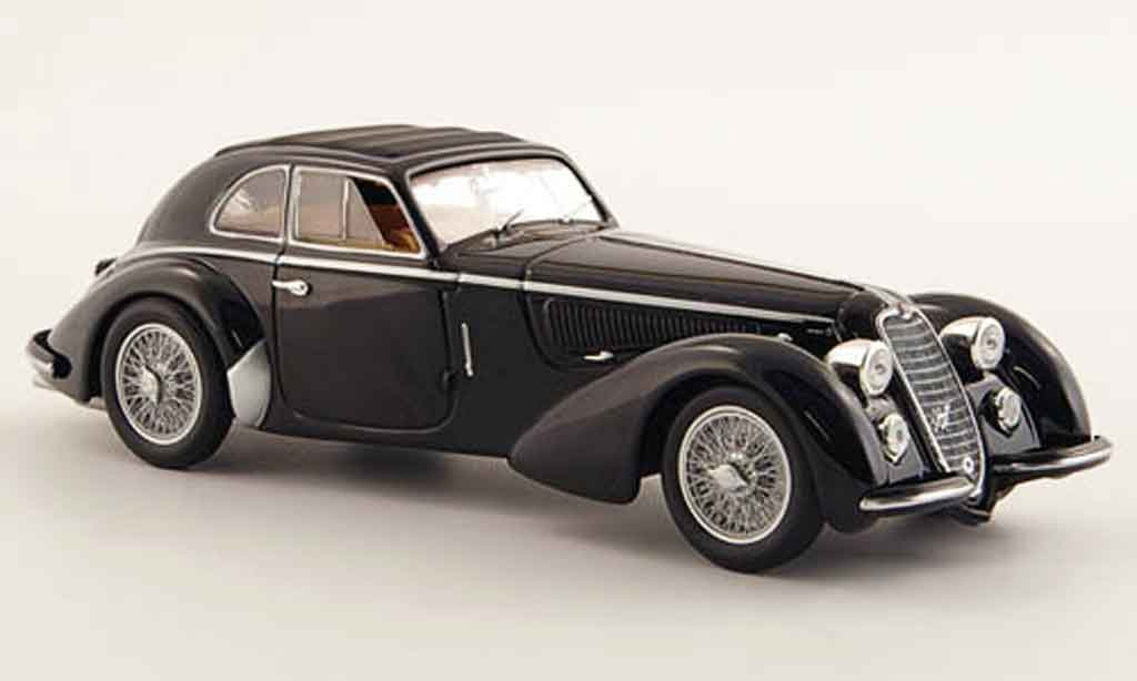 Alfa Romeo 8C 2900 1/43 Minichamps b lungo black 1938