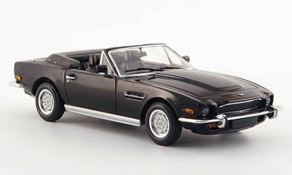 aston martin v8 volante black 1987 minichamps diecast model car 1 43 buy sell diecast car on. Black Bedroom Furniture Sets. Home Design Ideas