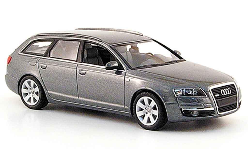 Audi A6 Avant 1/43 Minichamps Avant grise 2004 miniature