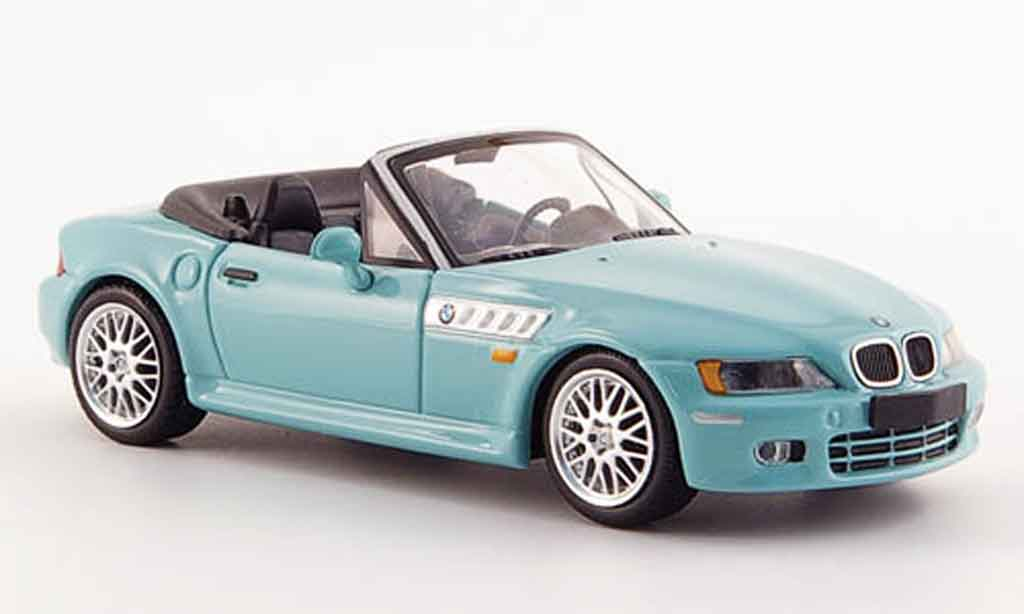 Bmw Z3 Roadster 1/43 Minichamps turkis 1999 miniature