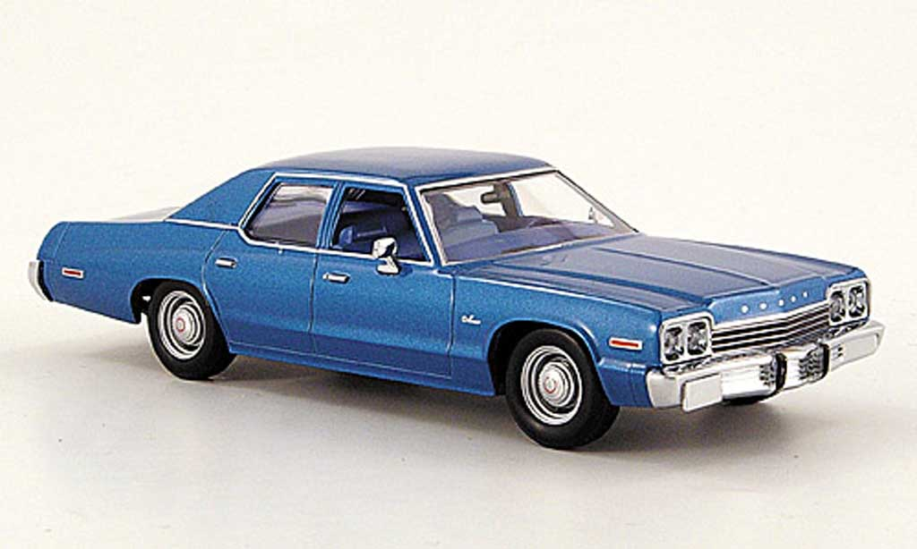 dodge monaco 1974 blue minichamps diecast model car 1 43 buy sell diecast car on. Black Bedroom Furniture Sets. Home Design Ideas