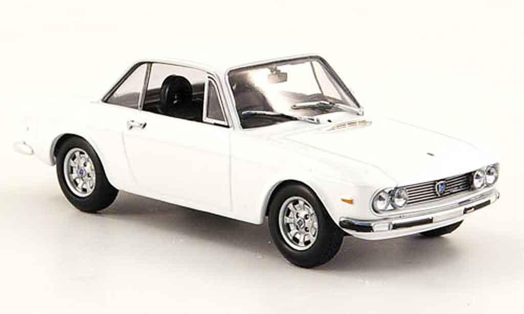 Lancia Fulvia HF 1/43 Minichamps 1600 weiss 1970 modellautos