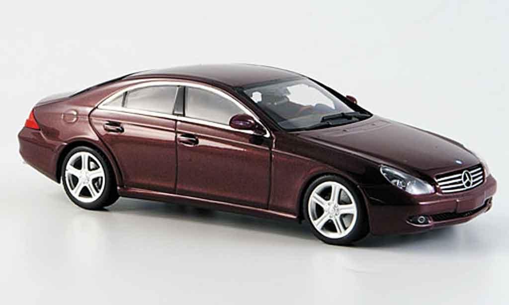 mercedes cls rot 2004 minichamps modellauto 1 43 kaufen verkauf modellauto online. Black Bedroom Furniture Sets. Home Design Ideas