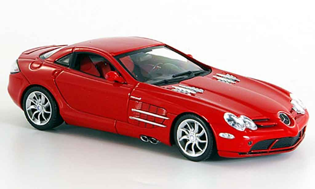 Mercedes SLR 1/43 Minichamps McLaren rouge 2003 miniature